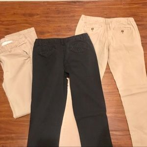 Mossimo Supply Co. Pants - 3 pairs of slim boot-cut pants